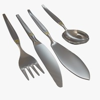 best cutlery 2 3d max