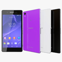 Sony Xperia Z2 All Colors