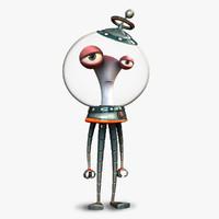 3d alien bobo model