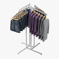 Women's Skirt and Shirt Rack