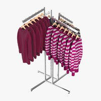 3d model women s sweaters