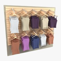 Women's Shirt Wall Display 2