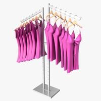 lingerie rack 3d model