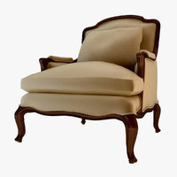 3d andrew martin armchair model