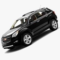 2010 chevrolet equinox 3d model