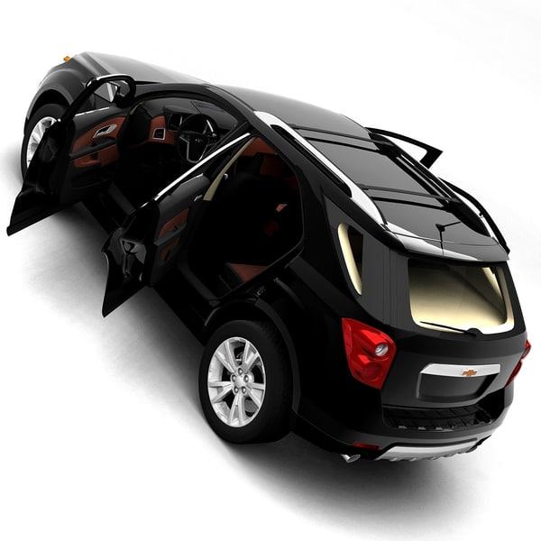 Chevy Suv Models >> 2010 chevrolet equinox 3d model