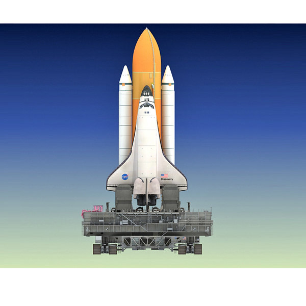 Space Shuttle Launch Pad Model - Pics about space
