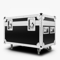 flightcase case 3d model