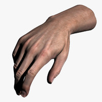 Male Hand (Jointed)