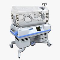 3d infant incubator model