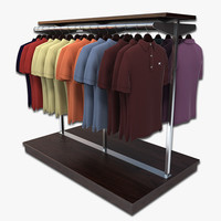 max polo shirt rack