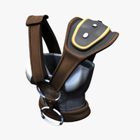 3d model norse armor