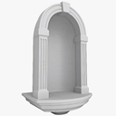 wall recess 3D models