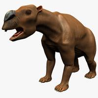 diprotodon 3d model