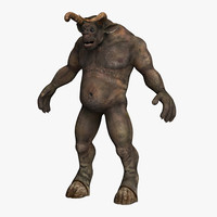 3d body minotaur