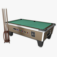 Arcade Billiards Table