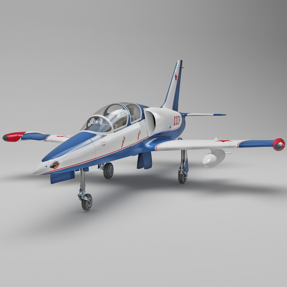 Aero Vodochody L-39 Albatros Russian Jet Trainer Aircraft_2.jpg