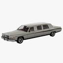limousine 3D models