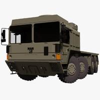 MAN SX 45 8X8 Military Truck System