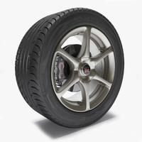 GTR R34 Wheel