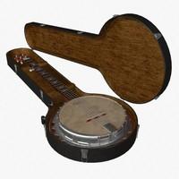 3d obj banjo