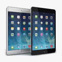 apple ipad mini 2 3d 3ds