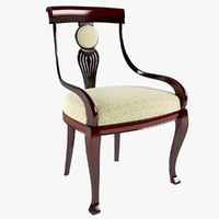 chair elegant 3d model