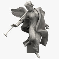 Angel Statuette 4