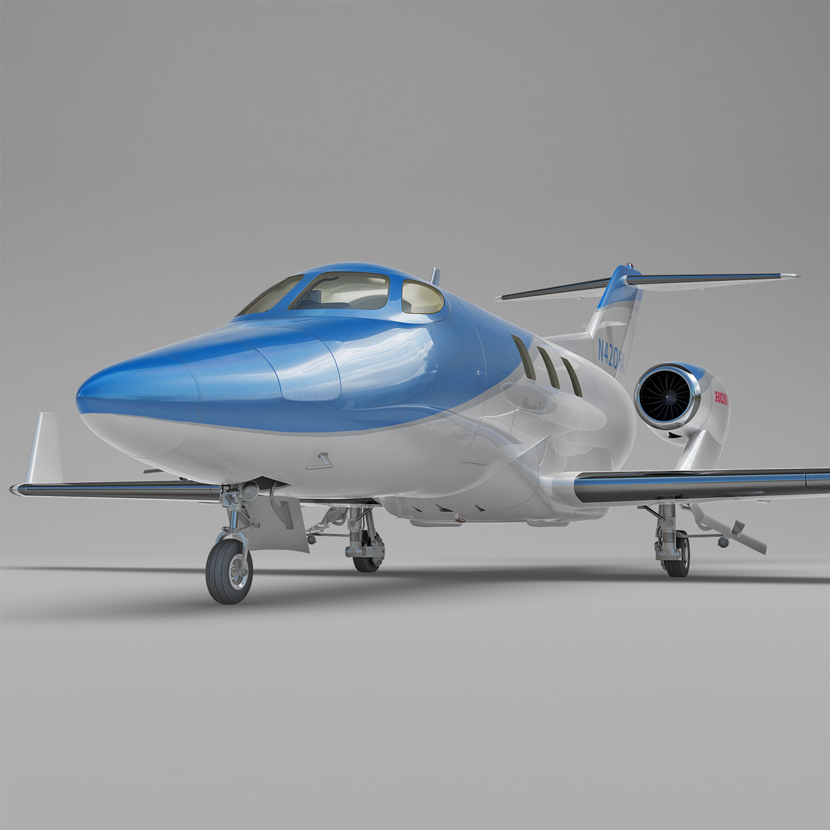 Business Jet Honda HA-420 HondaJet Rigged_2.jpg