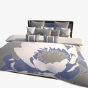 king bed 3D models