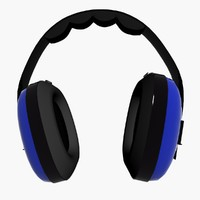 ear defenders 3d max