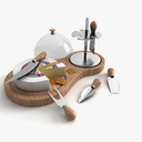 Cheese Board 3D models