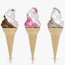 ice cream 3D models