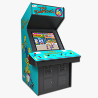 3ds max simpsons arcade