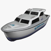 dive boat 3D models