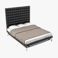 boss bed 3d model
