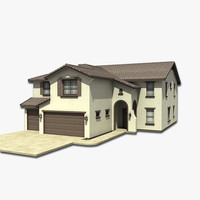 3d house model