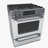 maya gas range oven