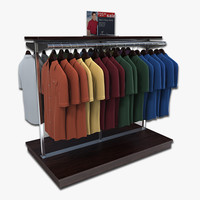 short sleeved shirt rack 3ds