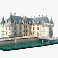 Castle Azay le Rideau France