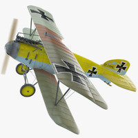 Albatros DIII WW1 Airplane(1)