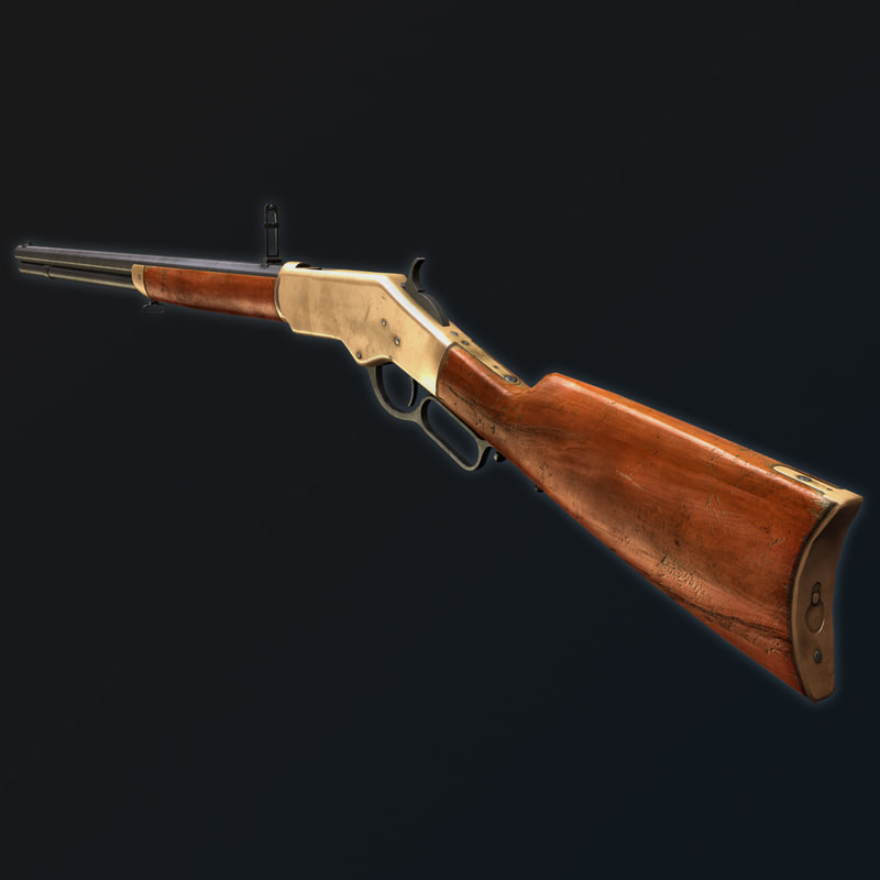 Lever Action Animation : Max winchester rifle