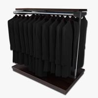 long coats 3d model
