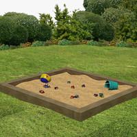 maya sand box