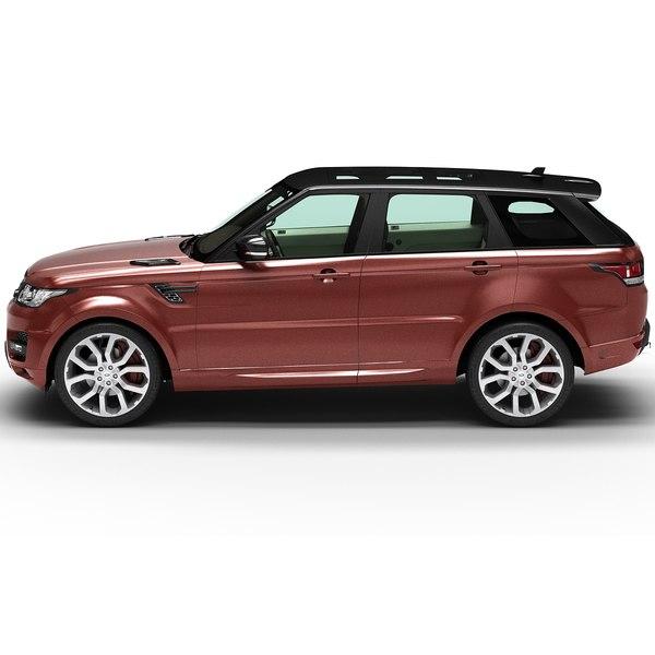 3d 2014 Land Rover Range Model