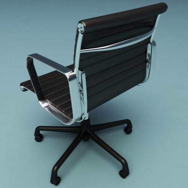 Maya office chair for Chair 3d model maya