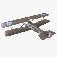 Sopwith Camel WW1 Airplane 3