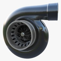 3d model of turbo