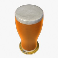 3dsmax beer pint glass