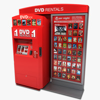 DVD Vending Machine